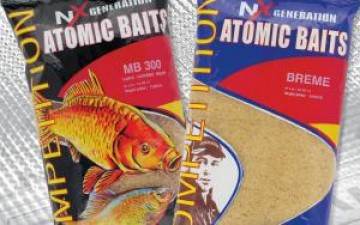 Groundbaits for river and lake